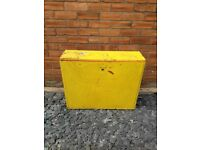 Yellow DIY Garage Large Storage Tool Box