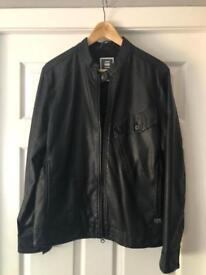 G-STAR leather jacket (large)