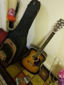 Countryman Acoustic Guitar with CNB Padded bag