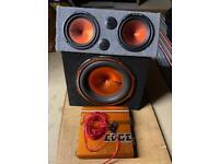 EDGE Sub, Amp and Speakers.