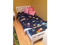 Two good condition toddler beds