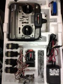 Futaba radio control 8 channel transmitter/reciever kit