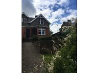 TRADITIONAL SEMIDETACHED VILLA OFFERING SPACIOUS FAMILY ACCOMMODATION OVERLOOKING MOFFAT.