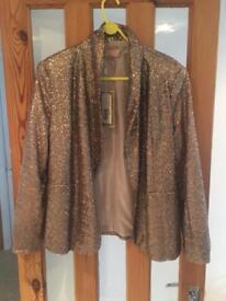 Sparkly Sequin Ladies Jacket