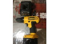 Dewalt 14.4v drill in good condition comes with one battery and charger