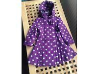 Girls Blue Zoo Coat