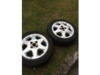 X2 car tyres on alloys 185/55 R 15