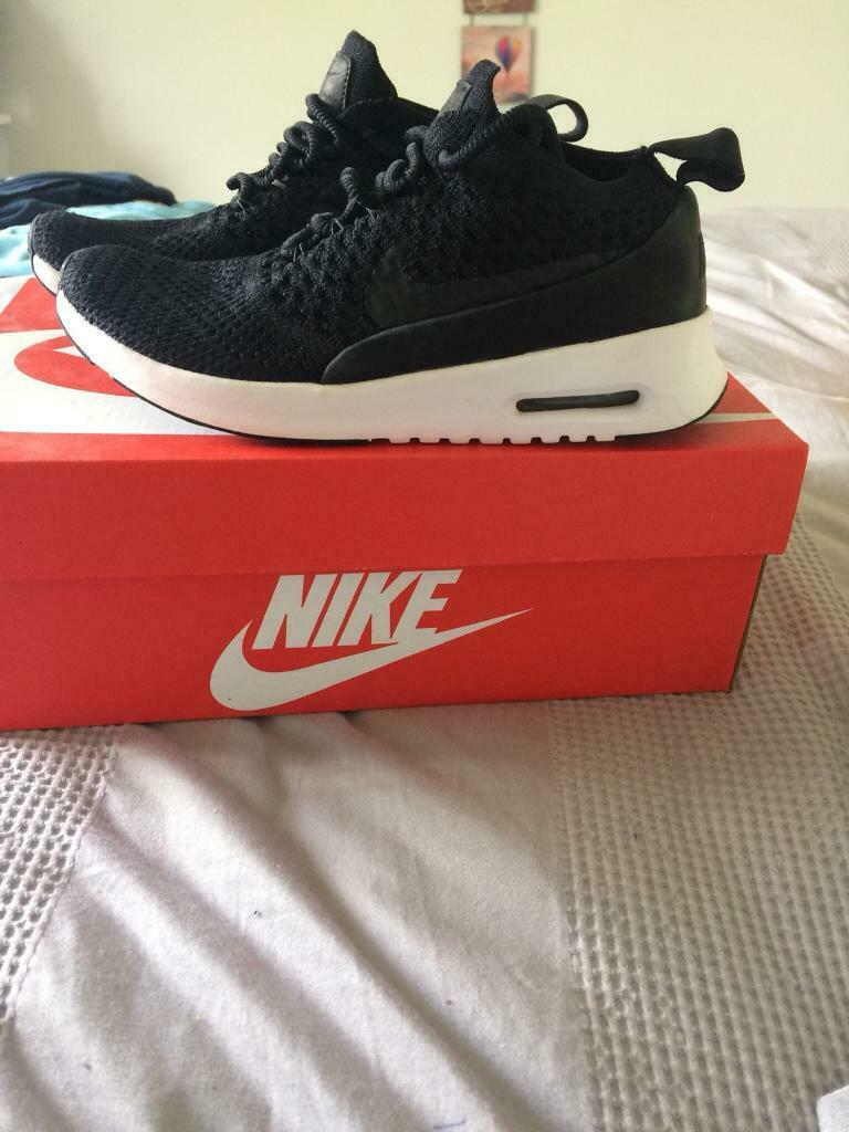 low priced d761f e5f8e Nike Air max Thea Flyknit Black size 2.5 | in Hull, East Yorkshire | Gumtree