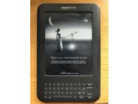 Amazon Kindle Keyboard (3rd gen, 4GB, ad version) with WiFi