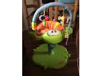 Fisher price frog space saving jumperoo