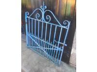 Original blacksmith made Wrought iron Gate