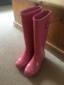 Pink Joules Wellies size 3 (size 36) great condition