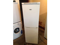 White WHIRLPOOL Very Nice Fridge Freezer (Fully Working & 3 Month Warranty)
