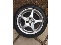 Alloys and Tyres x 4 - 195/50 R15