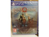 God of war (Brand New) still sealed PS4 Game