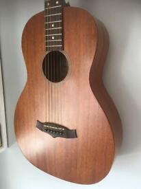 Parlour acoustic guitar