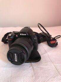 Nikon D40 SLR camera