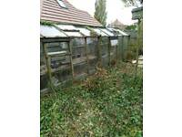Wooden greenhouse free to good home