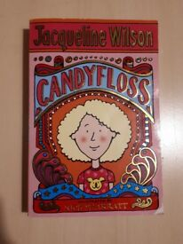 Jacqueline Wilson- Candyfloss- Children's paperback book
