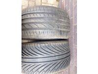 265/30/19 tyres x 2
