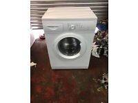 nice white washing machine it's 6kg 1000 spin in excellent condition in full working order