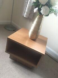 Oak end table