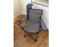 Folding Camp Chair & Carrier Bag