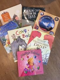 Selection of books for younger children - as new