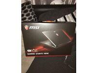 Msi gl62 gaming laptop