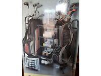 Black metal Golf Storage Organiser
