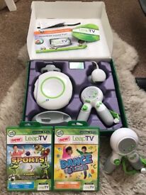 Leap TV with 2 games and additional controller
