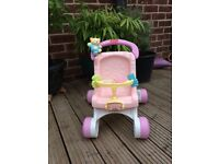 Fisher price baby pram walker