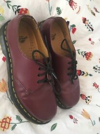 Size 7 Ox Blood Doc Martens