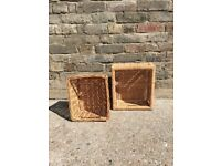Selling two baskets. Ideal for storing small items.