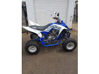 Yamaha raptor 700 SE 2015 road registered (only 688 miles from new) (stealth edition)