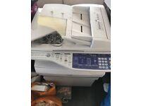 Sharp photocopier and printer