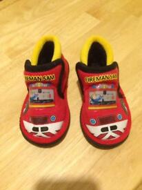 Fireman sam slippers