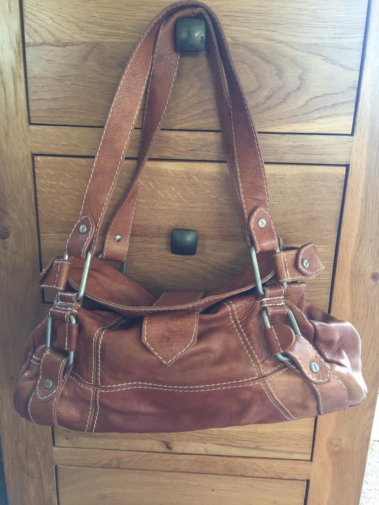 Leather Ted Baker Bag