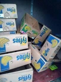 Free banana boxes