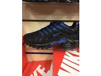 Nike air max TN blk/hyper blue. U.K. 6,7,8,9,10