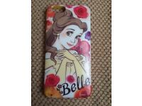 """BELLE"" DISNEY IPHONE 6, 6S BACKING CASE"