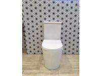 Toilet Modern close Couple with soft close seat - Mersey