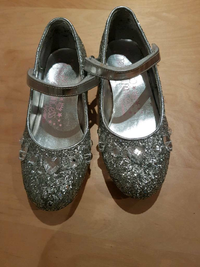 Sparkly girls shoes size 13
