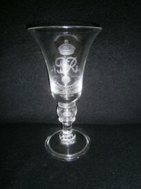 Coronation Memorial Glass