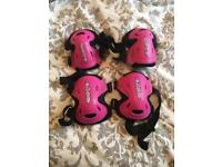 Children's elbow and knee pads, as new