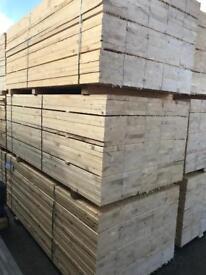 German white wood spruce scaffold boards £6.50