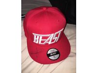 Ksi original red SnapBack signed by himself