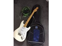 Entwistle Revelation Electric Guitar and case