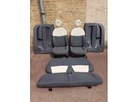 FIAT 500 INTERIOR FRONT & REAR SEATS, FRONT DOOR CARDS 2007 Onwards