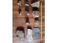 Aquarium or vivarium rocks